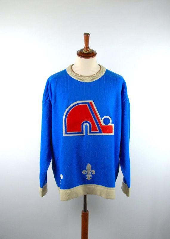 Quebec Nordiques Sweater Size Large