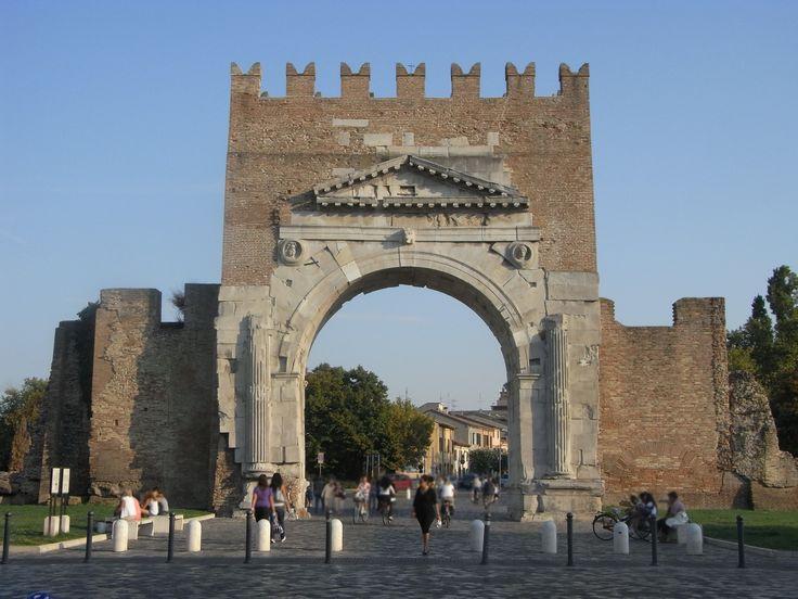 Arco d'Augusto - Augustus Arch