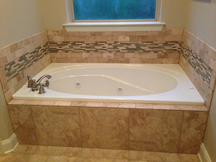 Tile Bathroom Tub 19 best bathrooms images on pinterest | bathroom ideas, bathroom