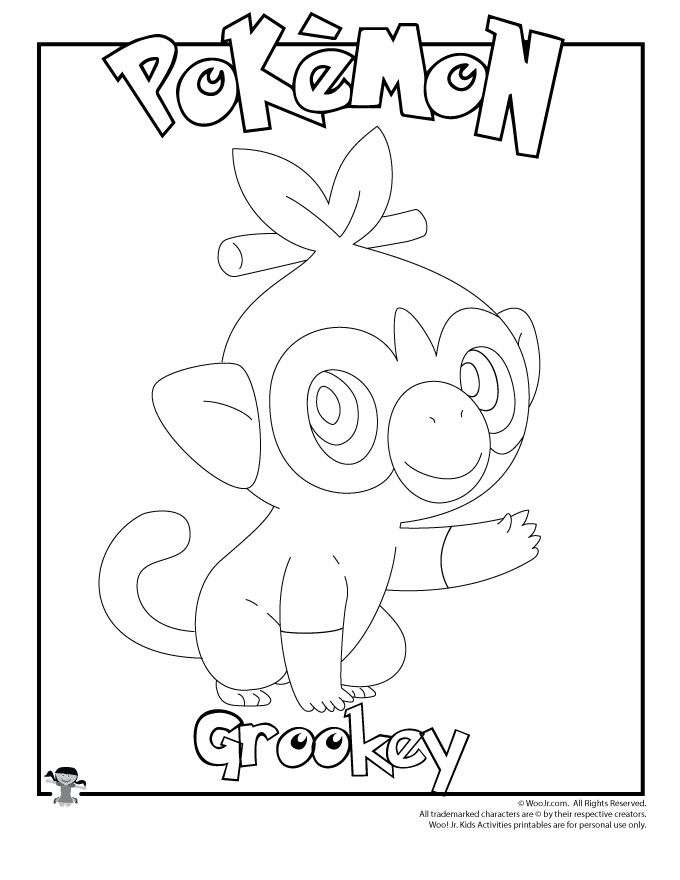 Pokemon Coloring Pages Woo Jr Kids Activities Pokemon Coloring Pages Pokemon Coloring Easy Pokemon Drawings