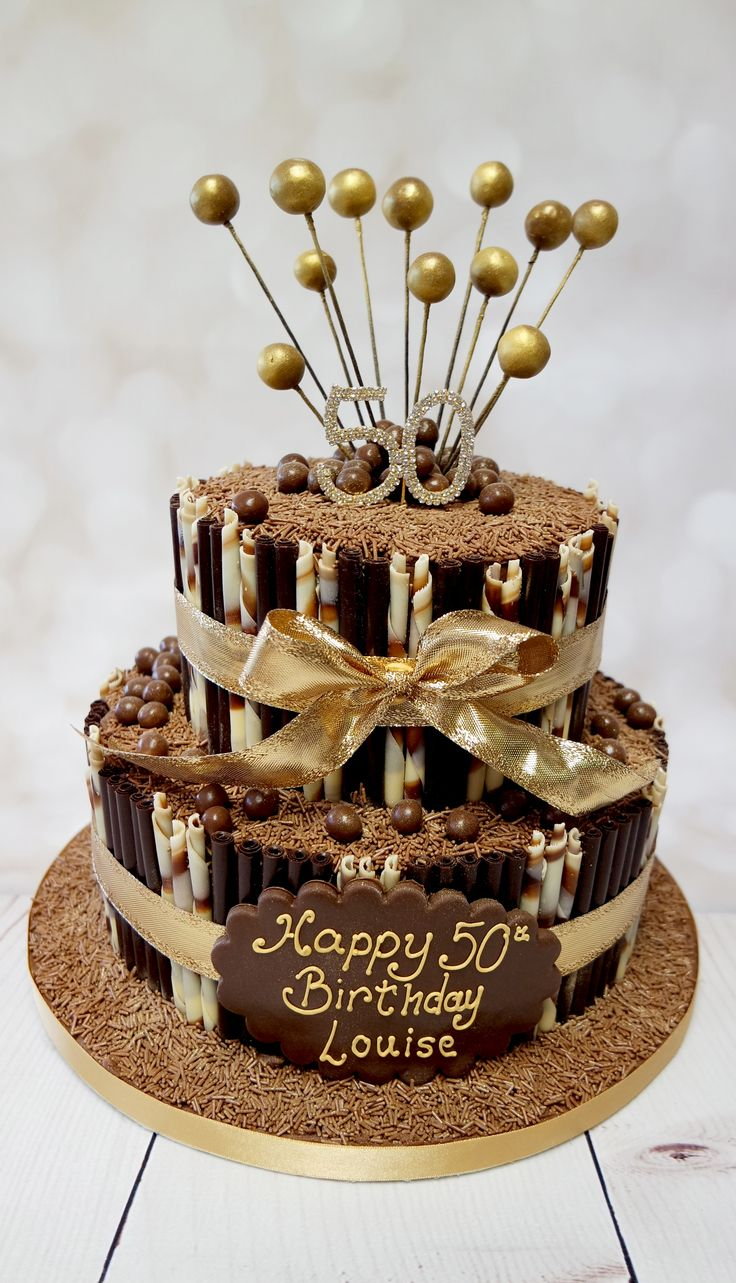 Elegant chocolate cake that would suit any type of