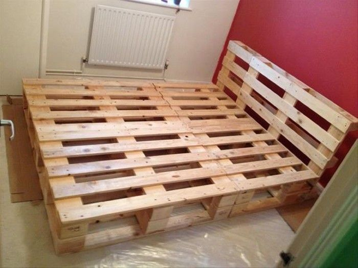 17 best ideas about pallet bed frames on pinterest diy pallet bed diy bed frame and bed frame plans