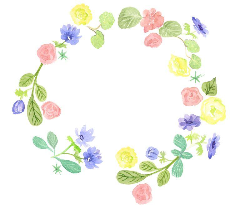 Pequeña corona de Flores realizada por Rosa CAbezón