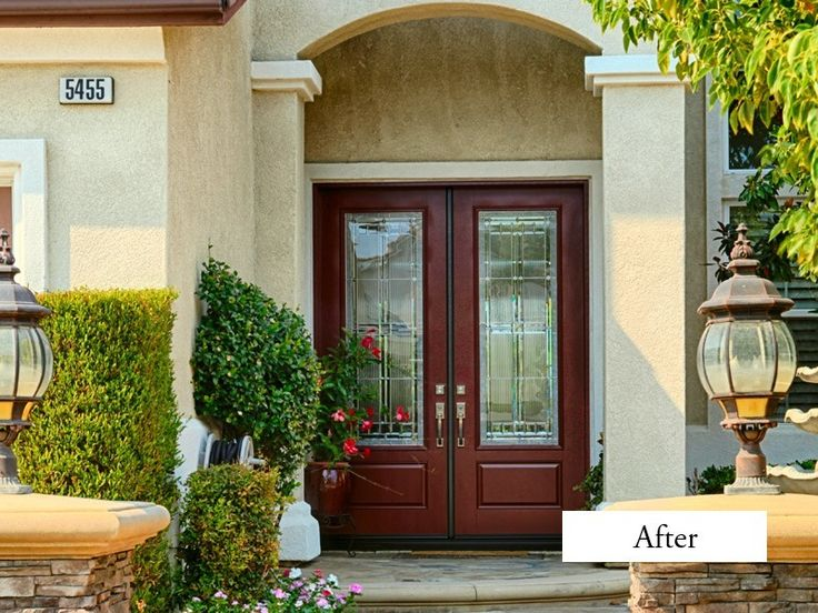 10 best ideas about house front door on pinterest for 8 foot exterior doors