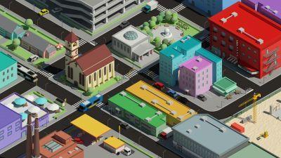 Isotropolis, 3d, city