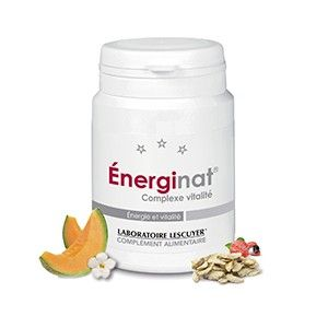 Énerginat - Contribue à maintenir #énergie et #vitalité (ginseng) -  Complément alimentaire - Prix : 24,50 € TTC