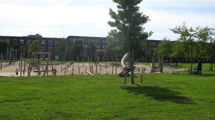 Детские площадки и игровые пространства в Нидерландах - archi.place   cовременная архитектура