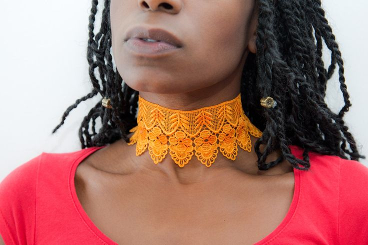 Fleur Orange soft flower lace Choker with pretty leaves. Silver leaf charm. Floral Lace choker. Boho Burlesque Nature by Molax Chopa Tribe by MolaxChopa on Etsy https://www.etsy.com/uk/listing/493149787/fleur-orange-soft-flower-lace-choker #lacechoker #flowerchoker #choker