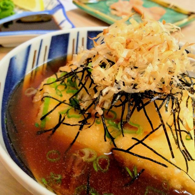 Agedashi Tofu @ Tsuru Sushi