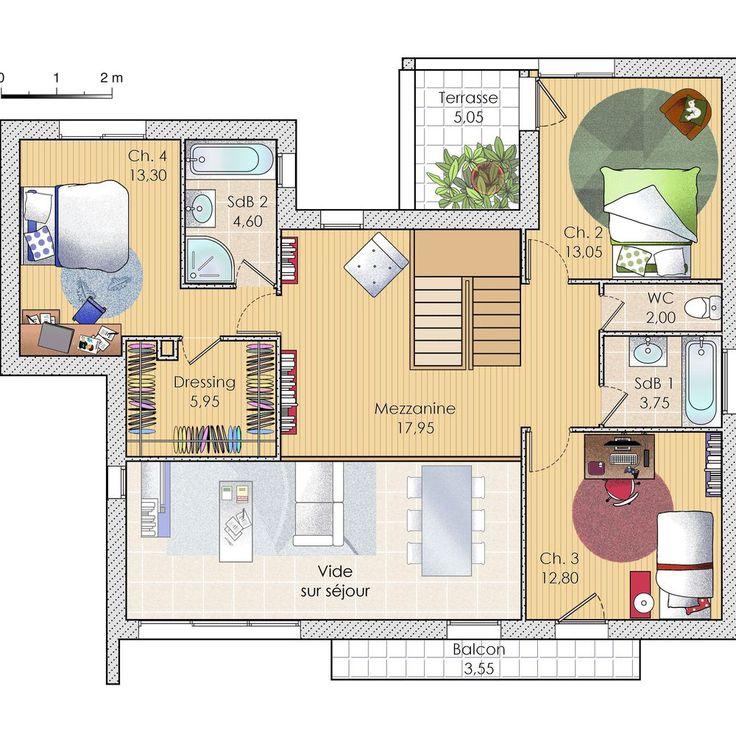 Spectacular D couvrez les plans de cette une maison connect e avec son temps sur construiresamaison