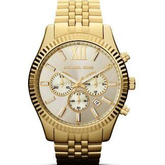 Michael Kors Watches Lexington (Gold)