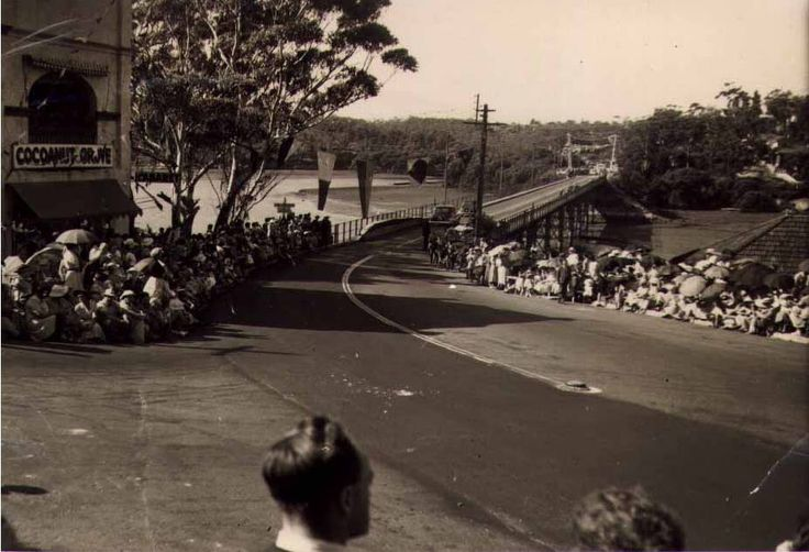 Figtree Bridge over the lane cove river in 1954.