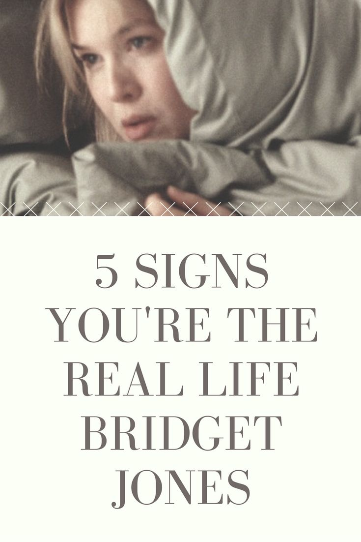 5 Signs You're The Real Life Bridget Jones