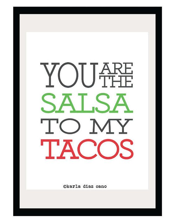 Kitchen Art Must Have...this is for my buggy...definitely ate a ton of tacos when i was preggo with her