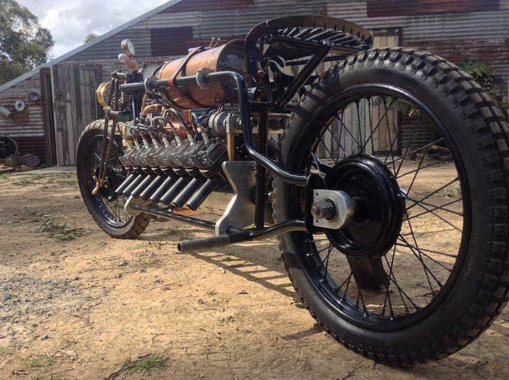 "V16 created by Mark Walker Australia called ""1916"""