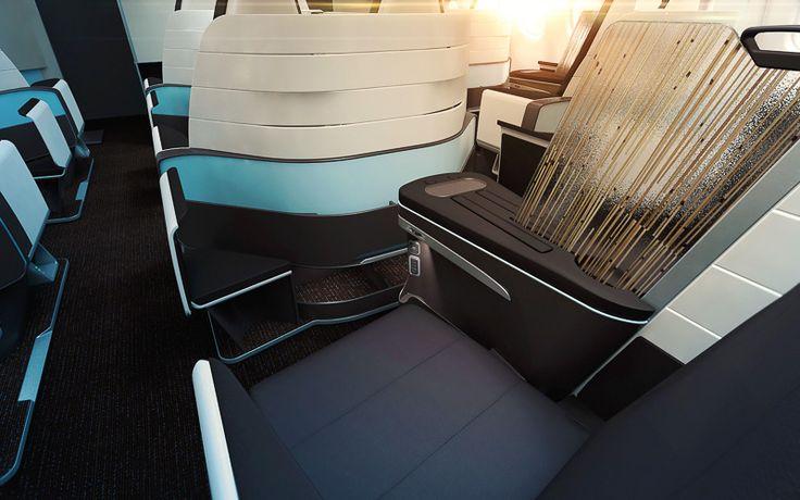 ハワイアン航空、A330型機のビジネスクラスに2-2-2のフルフラットシートを導入 #ハワイアン航空