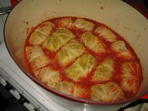 Yummy Polish food! - Polish cabbage rolls (golabki)