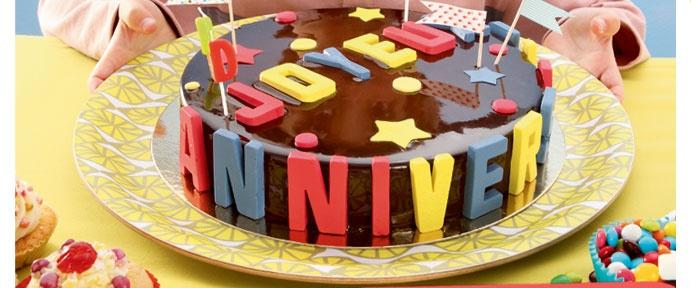 gateau anniversaire by vertbaudet