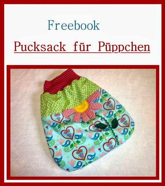 Freebooks Pucksack und Mütze für Puppen