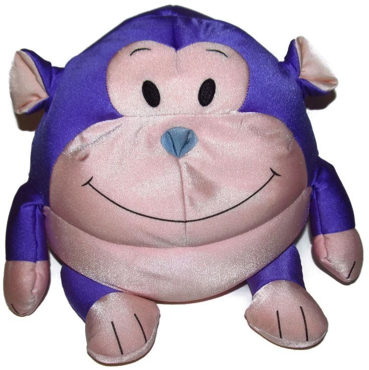 Moshi Purple and Pink Monkey Microbead Pillow 13