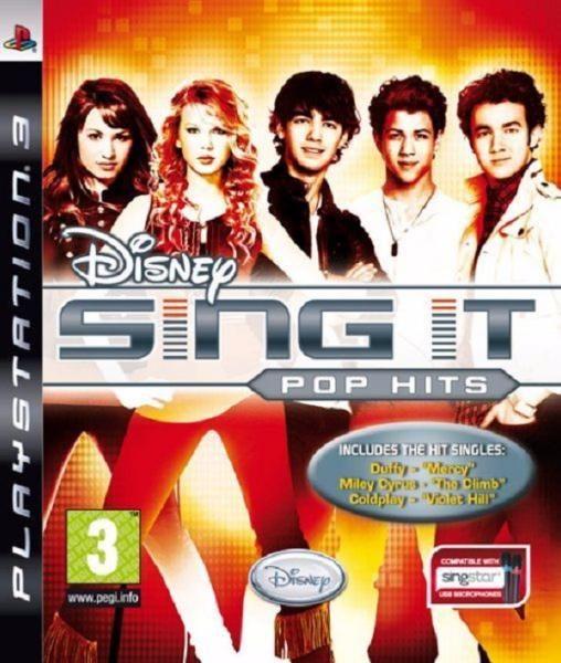 juego ps3 disney sing it pop hits