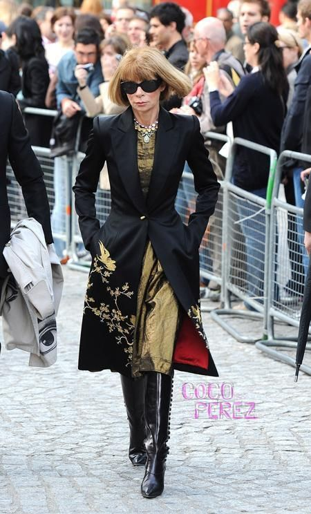 Because it's Anna Wintour. She gets fashion! Not sure if she has fun though. . . lol