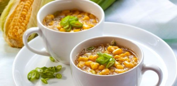 Savour our delicious Bean & Corn Chowder while the weather is getting colder! http://www.becel.ca/en/becel/HeartHealthyRecipes/Soups/Bean-and-Corn-Chowder.aspx