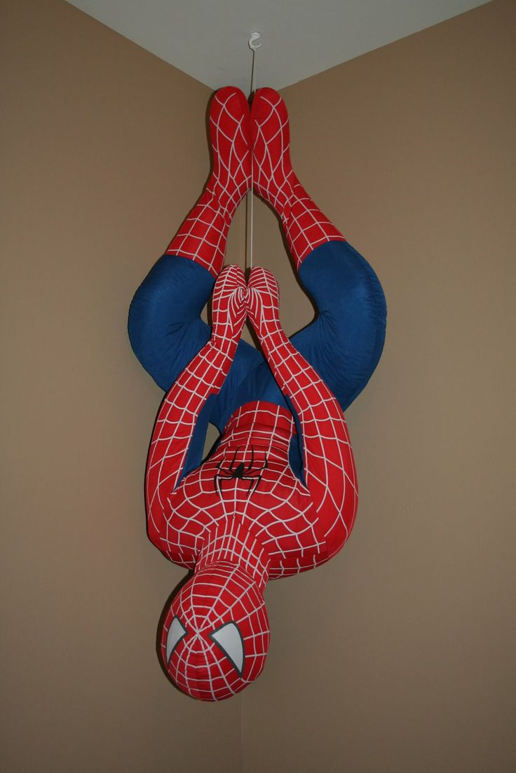 Spiderman decorations for bedroom - Murphy S Madhouse Spiderman Room