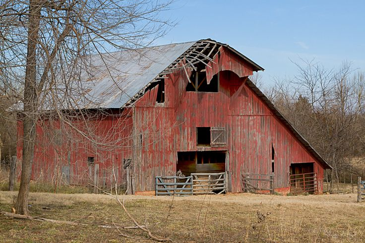 Old barn… Arkansas