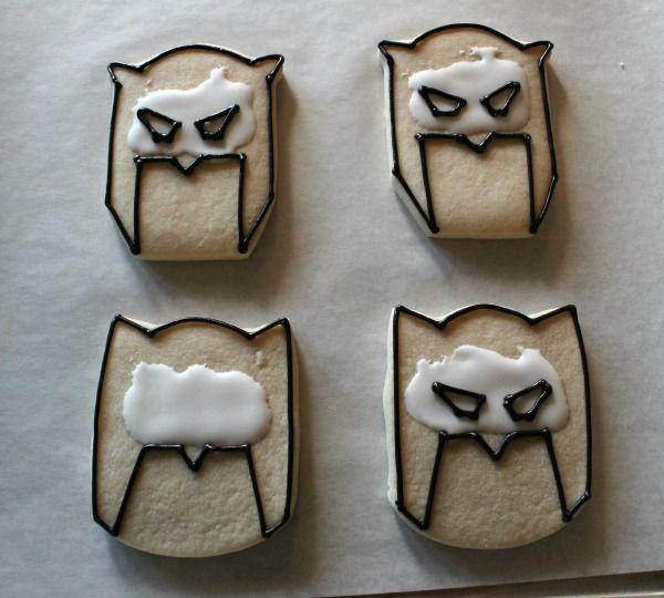 Batman Cookies how to