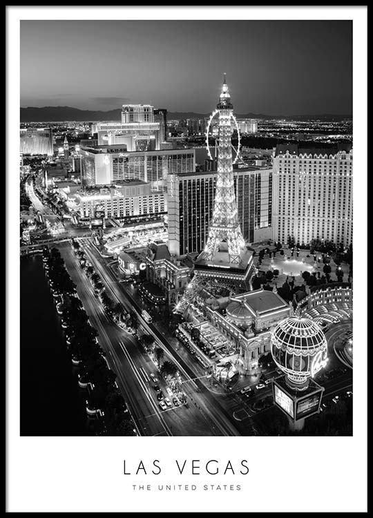 Las Vegas Poster in der Gruppe Poster / Größen und Formate / 50x70cm bei Desenio AB (8922)