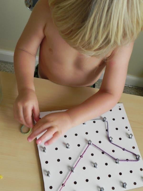 DIY lacing board