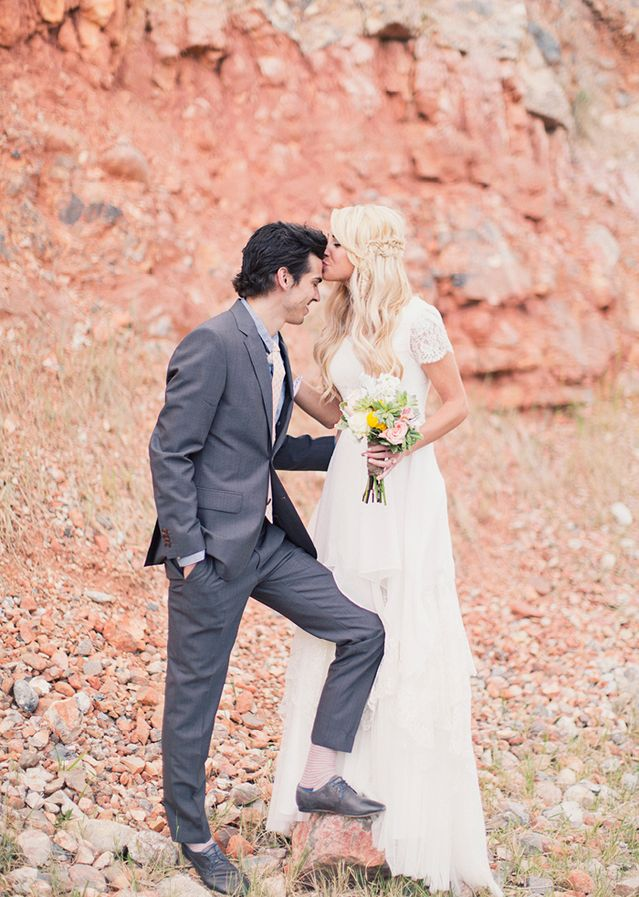 Love everything about this wedding - especially the bride's style for the wedding and after the wedding!