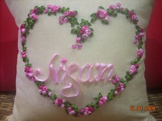 RIBBON CHANTEQ ~ RIBBON EMBROIDERY