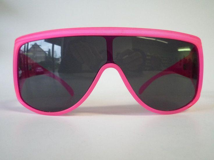 Hot Vintage 90s neon pink fun sport sunglasses picclick ...