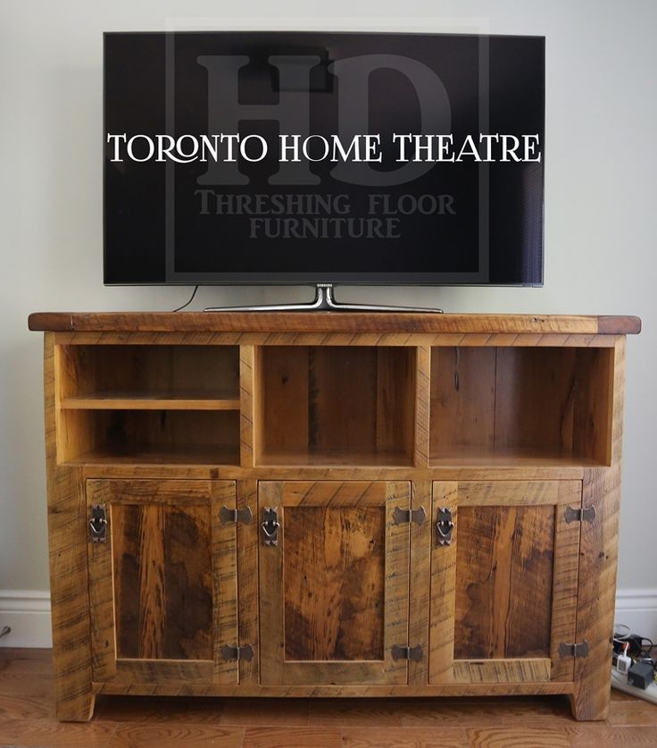 Custom Reclaimed Wood Buffet Console Sofa Side Table – Local Ontario  Pioneer Barnwood Construction – Premium