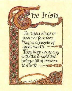 I love being Irish!