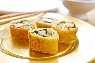 SUSHI MAKI FRITO: Sushi Maki, Mis Recetas, Asian Food, Food, Sushi Frito, Food Food, Favorite Recipes, Maki Frito, Kitchen