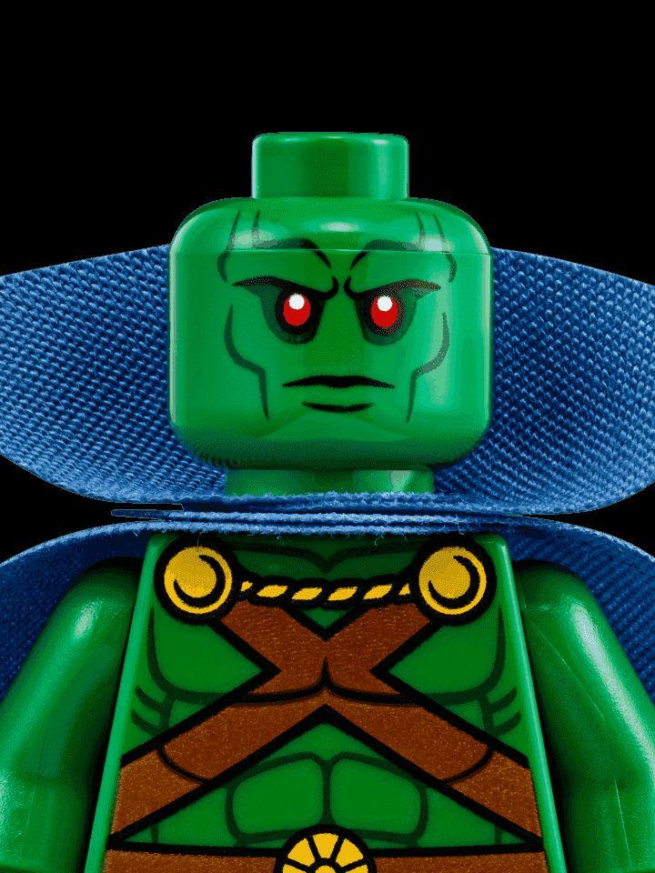 Martian Manhunter - Characters - DC Comics Super Heroes LEGO.com