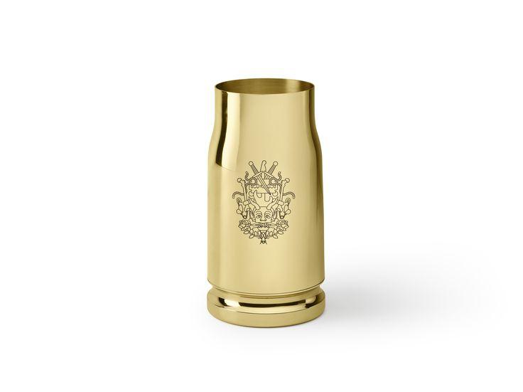 Nowhere (bullet) #studiojob #ghidini1961 #design #brass #brassdesign
