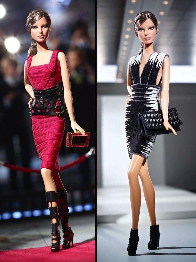 ¡Quiero una Barbie! Pero que venga vestida de Herve Leger