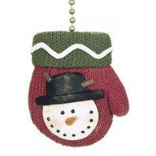 Winter Mittens Ceiling Fan Pull Christmas Snowman  Winter Mitten #ceiling #fan #pull  Features : Approximately 2 inches *Attached 6-inch 18k-gold plated chain & connector *3D Resin  Color : Red, Green, White