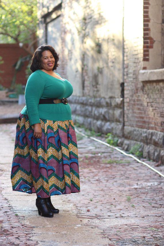 African Ankara Maxi; African Blue/Purple Skirt; African Maxi skirt; African Print; African Skirt; African Maxi; African Clothing