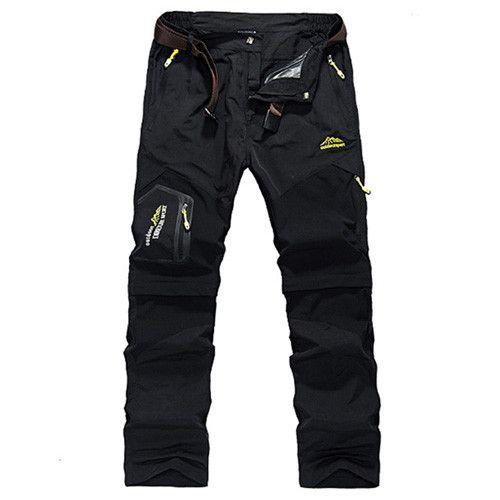 Quick Dry Pants Men Camping Waterproof Pants