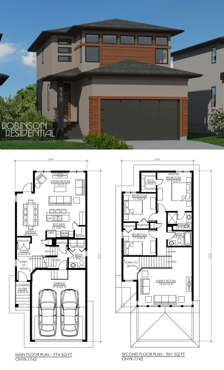 Modern Two Storey House Design With Terrace: 462 Best Images About L TWO STOREY HOME PLANS L On Pinterest