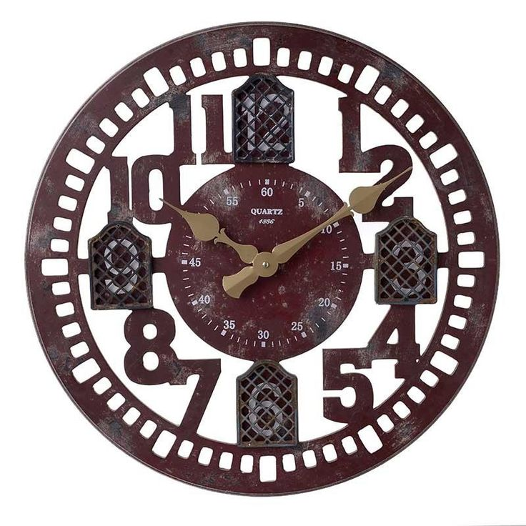 Ρολόι Τοίχου Κεραμιδί INART 60εκ http://www.lovedeco.gr/p.Roloi-Toichou-Keramidi-INART-60ek.910220.html
