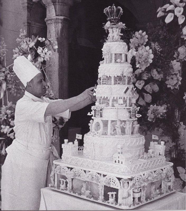 1956:  Prince Rainier and Grace Kelly