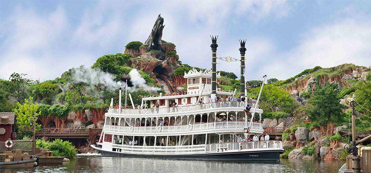 【公式】蒸気船マークトウェイン号   東京ディズニーランド   東京ディズニーリゾート