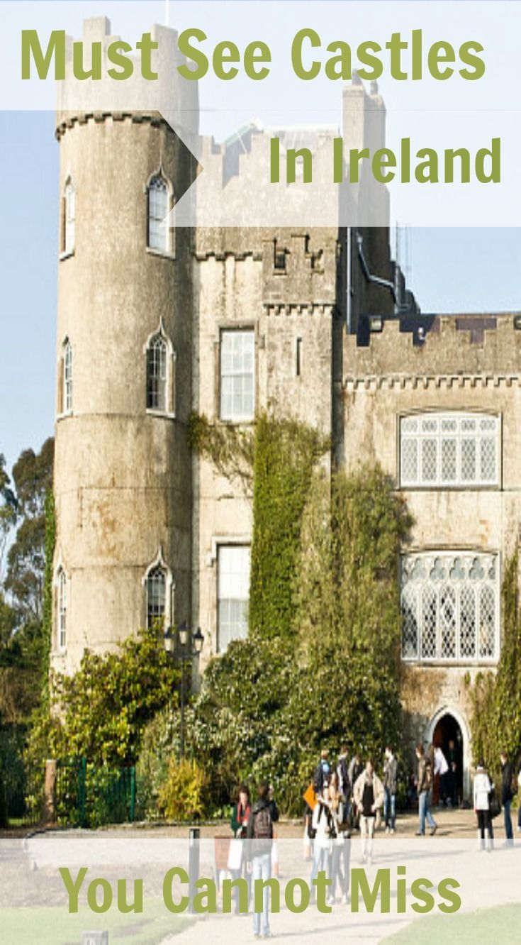 9 Most Amazing Castles You Cannot Miss in Ireland. The Most Amazing Castles in Ireland (not to be confused with the boring, run-of-the-mill castles in Ireland). We spent 2 weeks on a road trip through Ireland that brought us to some well-known castles that everyone should add to their list of stops on a visit to the beautiful emerald isle. Click to read the full adventure travel blog post at http://www.divergenttravelers.com/9-castles-you-cannot-miss-ireland/