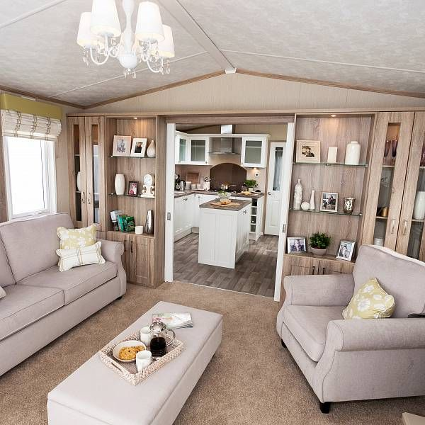 mobile home living room